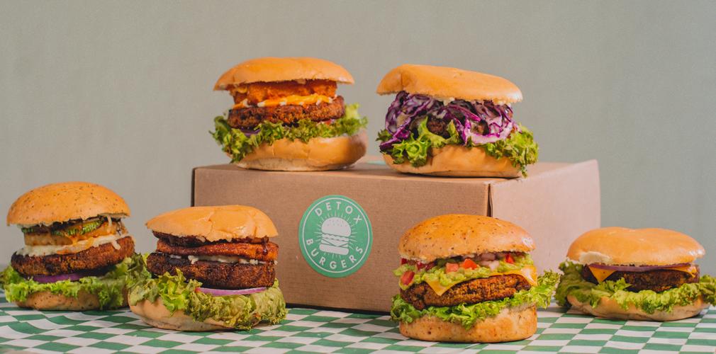 Detox Burger: La Dark Kitchen de hamburguesas healthy en Mérida que tienes que probar