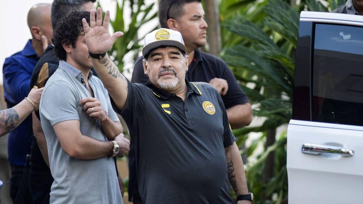El Día que Maradona llegó a Yucatán