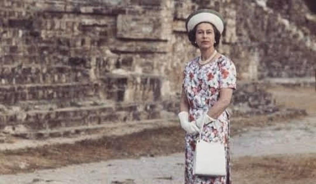 El día que la Reina Isabel visitó Yucatán
