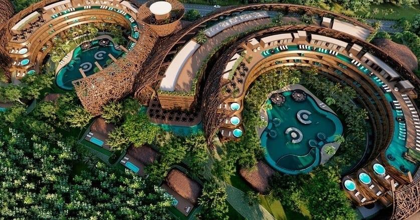 En el Corazón de Tulum se abrirá nuevo hotel en forma de nido de pájaro