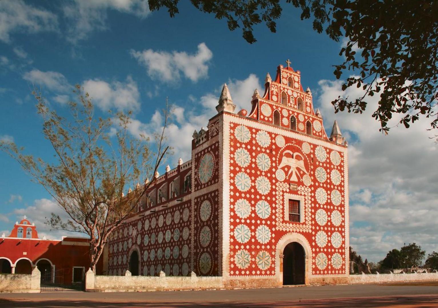 Ex Convento de Santo Domingo en Uayma
