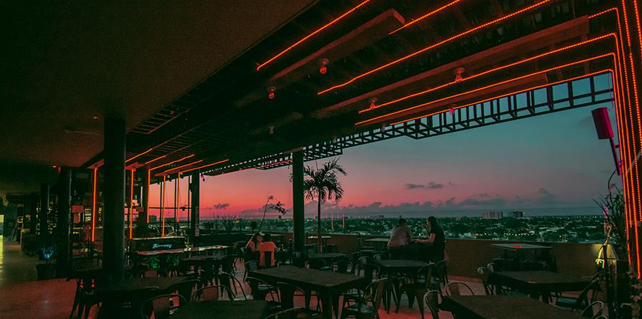 GIN 47, El Rooftop Bar con la mejor vista de Mérida