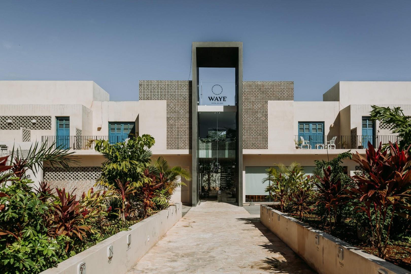 Hotel WAYE' - Un alojamiento conceptual en Valladolid, Yucatán