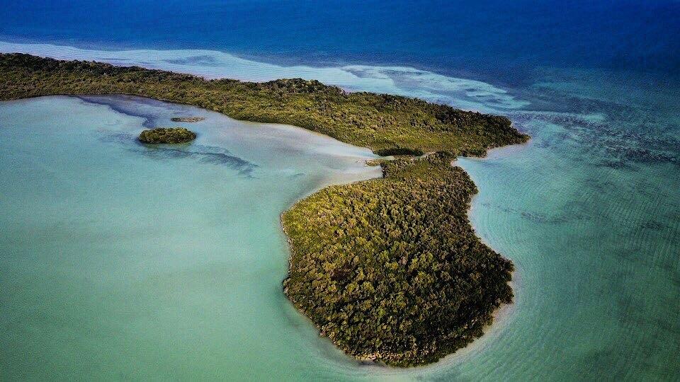 Isla Tamalcab, La deshabitada playa virgen escondida en Chetumal