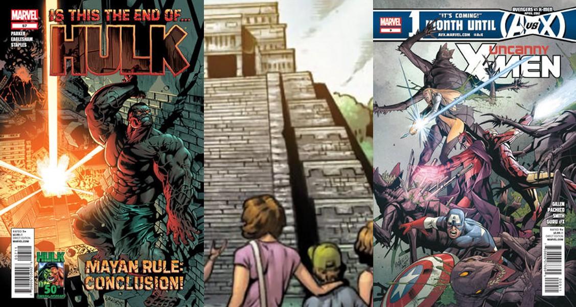 La aparición de Chichén Itzá en los comics de Marvel