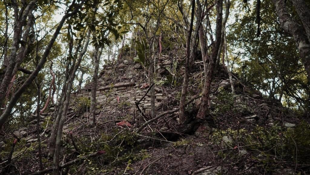 Lagunita, La Zona Arqueológica de Campeche que parece película de terror