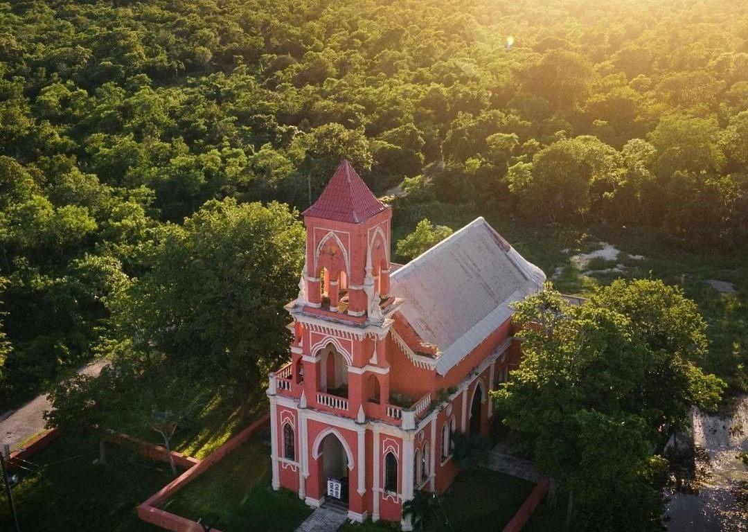Las 5 iglesias Neogóticas de Yucatán