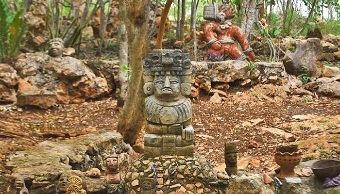 Los Aluxes, Los duendes de la Cultura Maya