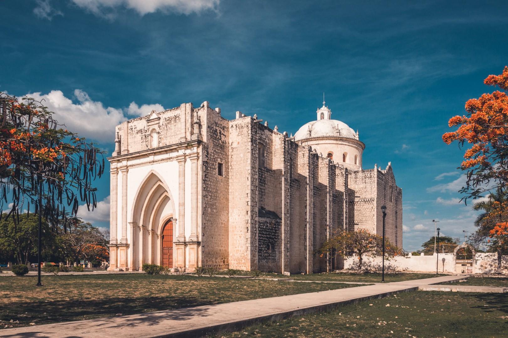 Parroquia y Ex Convento de San Francisco de Asís en Umán