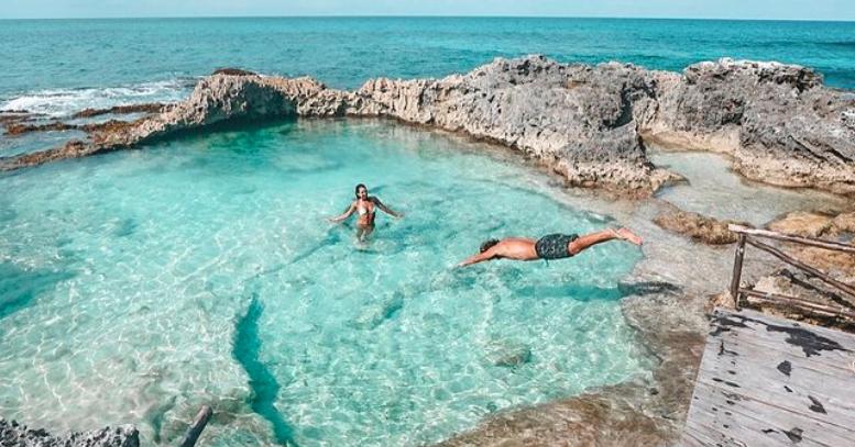 Piscina del Rey, La Joya Natural de ensueño en Isla Mujeres