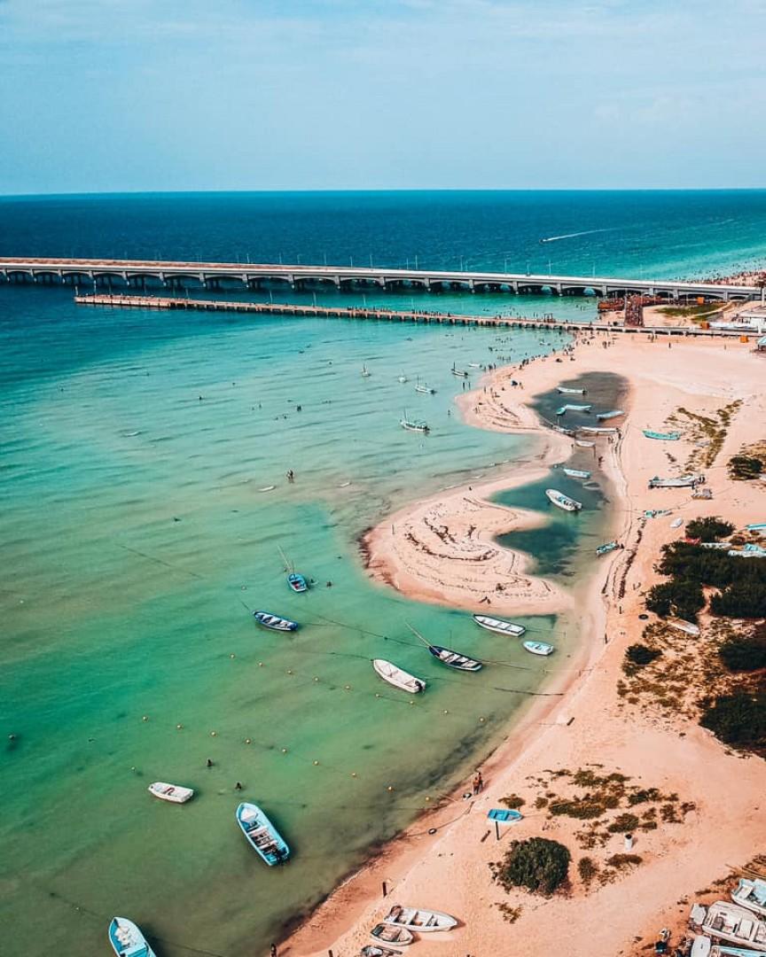 Progreso, El principal puerto de Yucatán