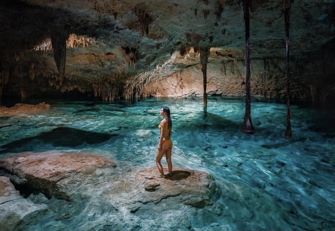 ¿Qué significa la palabra Cenote?