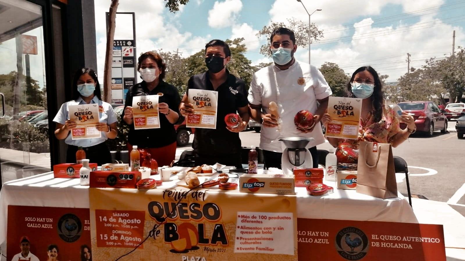 Segunda edición de la feria de Queso de Bola llega a Mérida