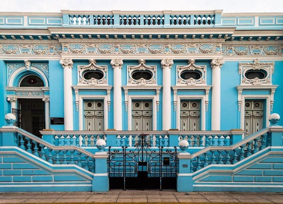 La Casa Azul más hermosa de Mérida, Yucatán