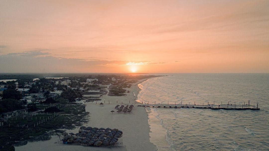 ¿Qué hay en Sisal?, La Playa Mágica de Yucatán