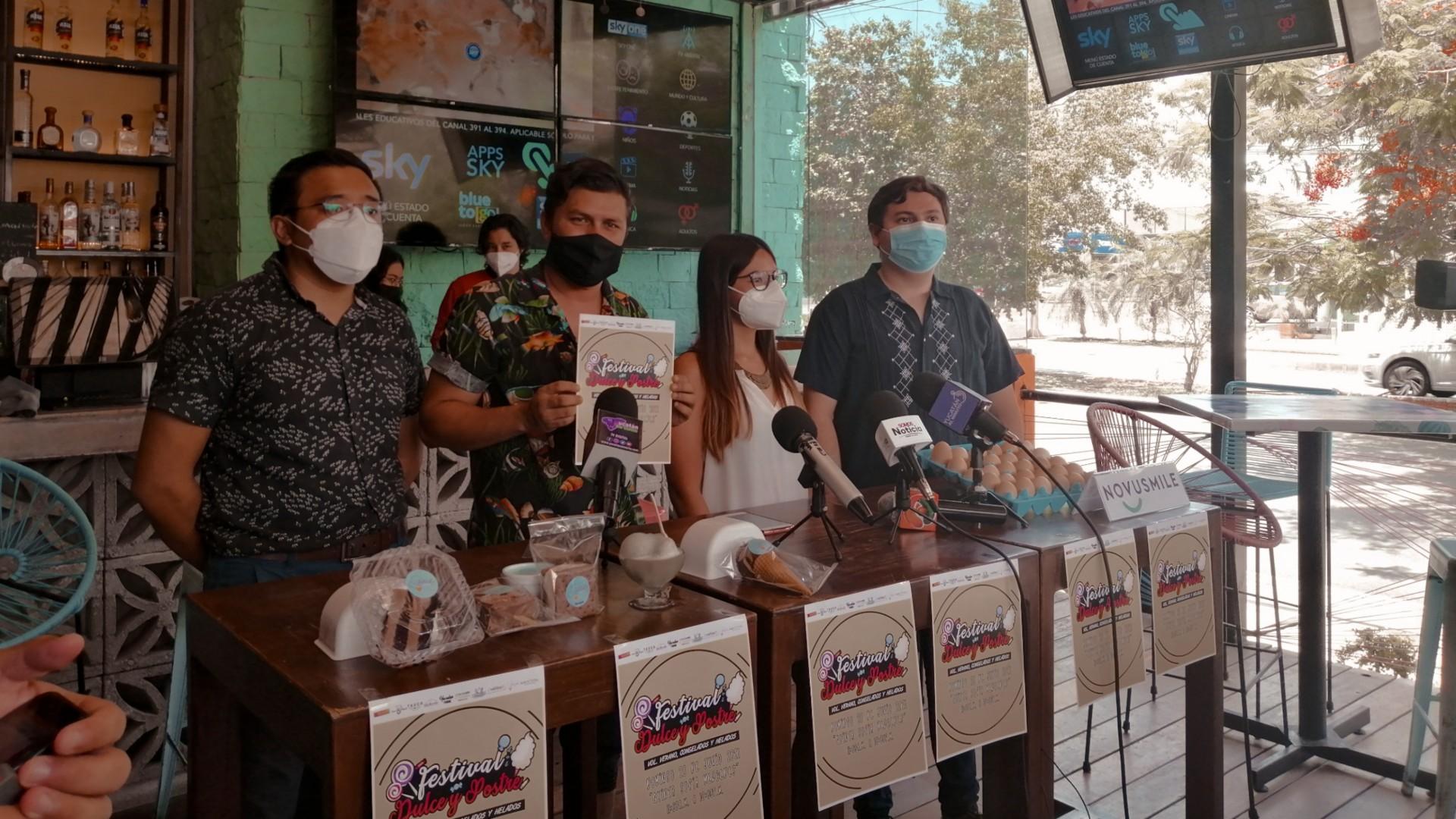 Tercera Edición de la Feria del Dulce y el postre llega a Mérida