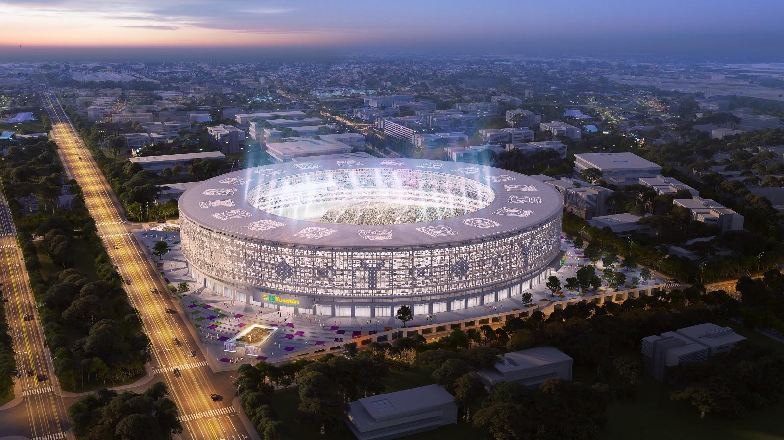 TODO lo que sabemos sobre el nuevo estadio llamado: ESYUCATAN