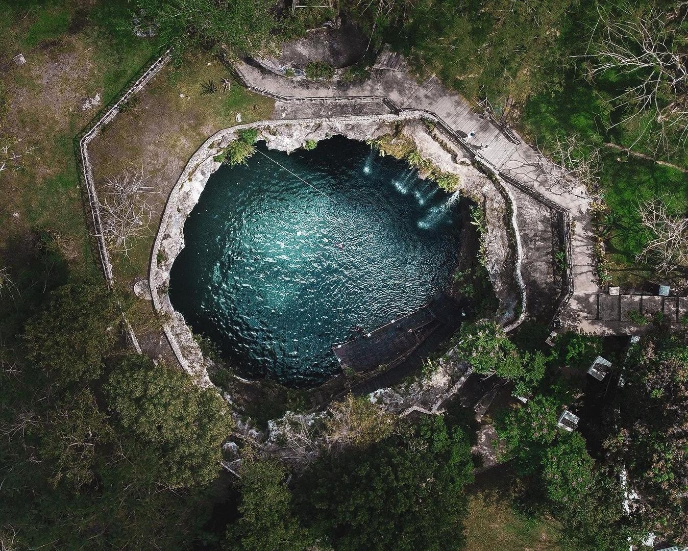 TOP 6 Cenotes que tienen Restaurante